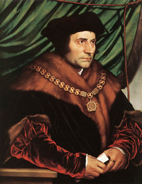Portrait of Sir Thomas More by