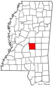 Image:Map of Mississippi highlighting Scott County.png