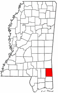 Image:Map of Mississippi highlighting Greene County.png