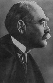 Rudyard Kipling, British author