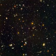 The deepest visible-light image of the cosmos. Hubble Ultra Deep Field. Image Credit: , , S. Beckwith (STScI) and the HUDF team.