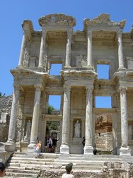 Facade of the Library of Celsus, Ephesus