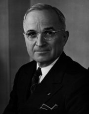had been VP only a few months in 1945 when  died and he became President