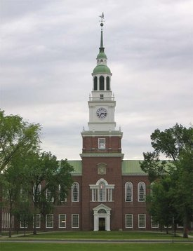 Baker Library at Dartmouth College