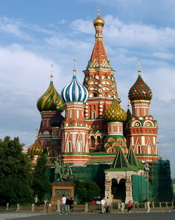 , a well-known Russian Orthodox church situated in