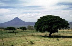 Volcán Momotombo, a symbol of Nicaragua
