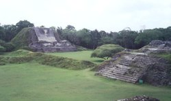 Temples at Altun Ha