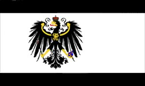 The flag of the Kingdom of Prussia, 1894-1918