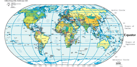 Equator academic kids the equator is an imaginary line drawn around a planet halfway between the poles the equator divides the surface into the northern hemisphere and the gumiabroncs Image collections